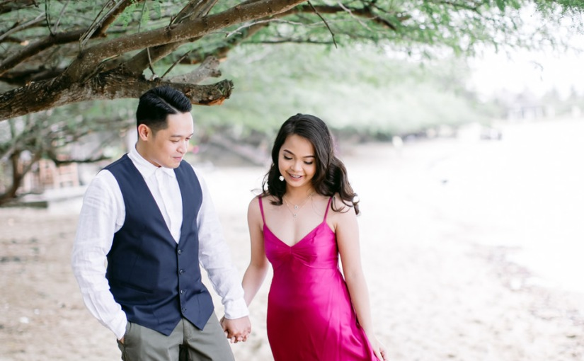 Sand & Sky: Paul & Mona Outdoor EngagementSession