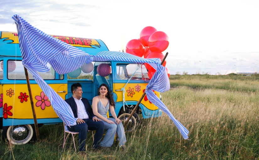 I Love You More Than Bacon: Carlos & Vanessa Quirky Engagement Session