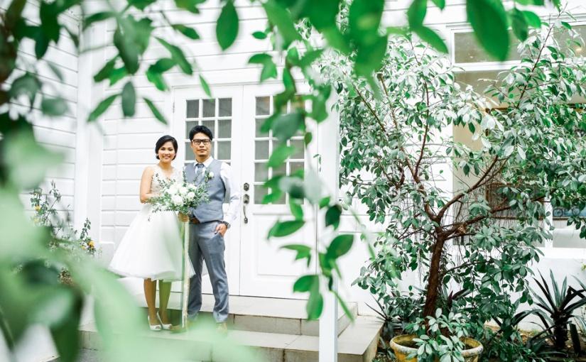 Greenery Elegance: Pads & Min CivilWedding