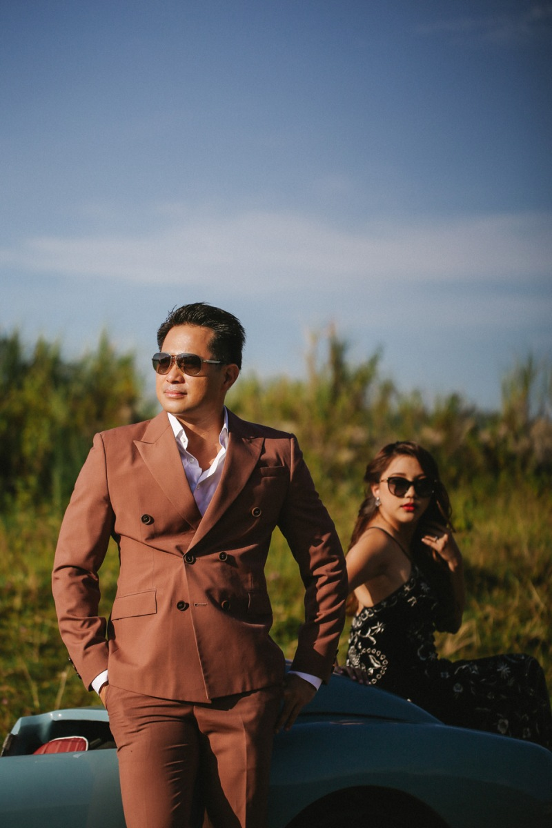 Cuckoo Cloud Concepts Glenn & Krizia Vintage Inspired Cruising Engagement Session Cebu Event Stylist 08