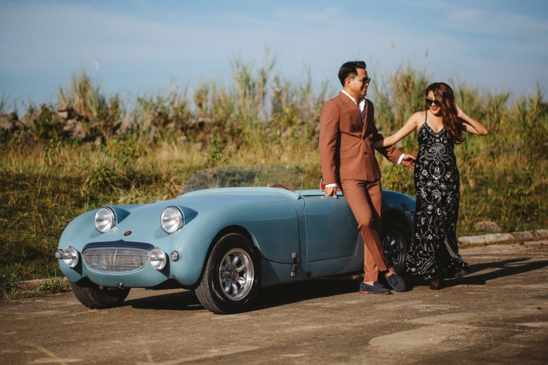 Cuckoo Cloud Concepts Glenn & Krizia Vintage Inspired Cruising Engagement Session Cebu Event Stylist 11