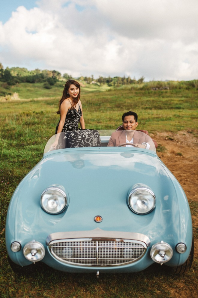 Cuckoo Cloud Concepts Glenn & Krizia Vintage Inspired Cruising Engagement Session Cebu Event Stylist 31