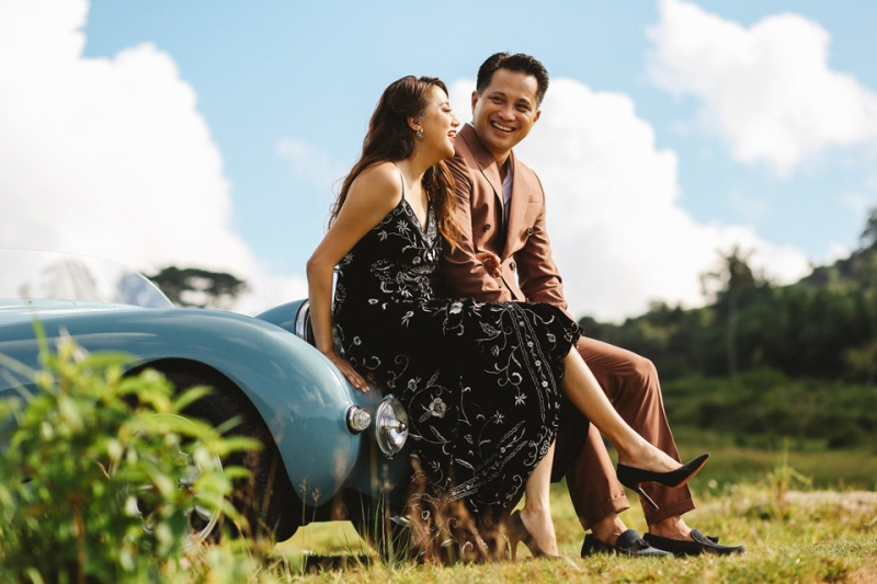 Cuckoo Cloud Concepts Glenn & Krizia Vintage Inspired Cruising Engagement Session Cebu Event Stylist 34